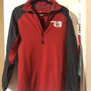 Men's Nike OU 3/4 zip pullover
